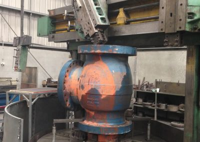 Machining 600mm valve housings