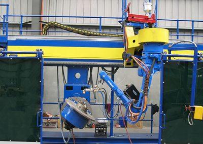 9 axis robotic welding