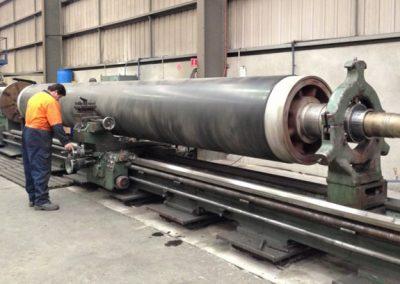 Machining 1.4m Diameter x 11m Length