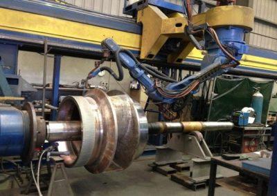 Robotic Welding (10m x 3m x 3m work envelope)