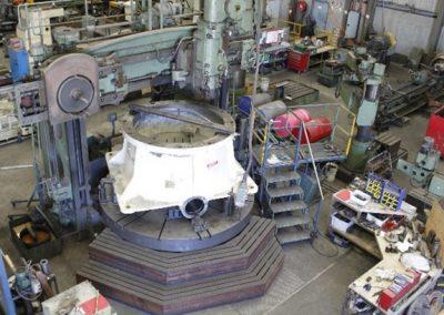 Large Vertical Borer 3.5m diameter