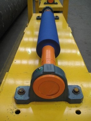 Polyurethane pulley lagging