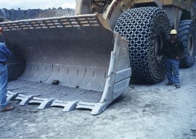 Dozer Bucket Wear Studs