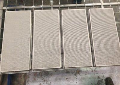 Hardfaced Coal Washery Screen Plate