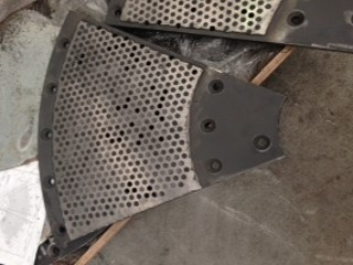 Hardfaced Pulper Screen Plate