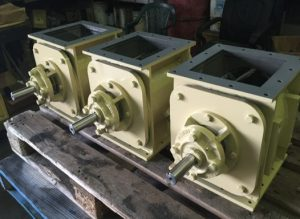Heavy duty rotary valves manufactured by Avweld