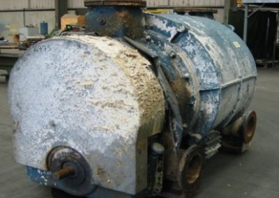 Nash vacuum pump before repair