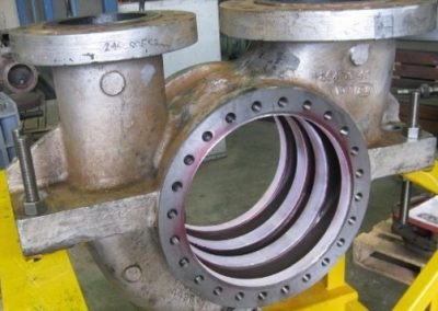 Quality control testing of welded surface