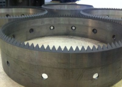 Hardfaced saw cutters