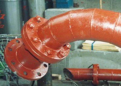 Lobster Back Internally Hardfaced Elbow