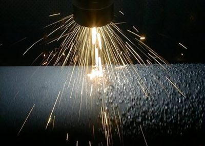 Arc spray grip coating