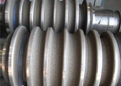 Steel mill grip rollers