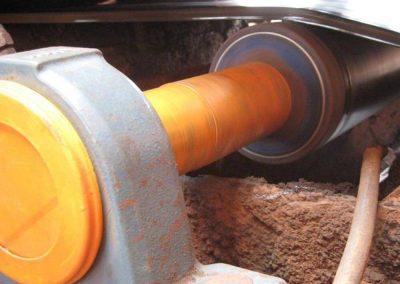 Conveyor Pulley Lagging with Polyurethane