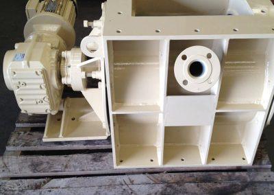 Heavy Duty cement industry rotary valve