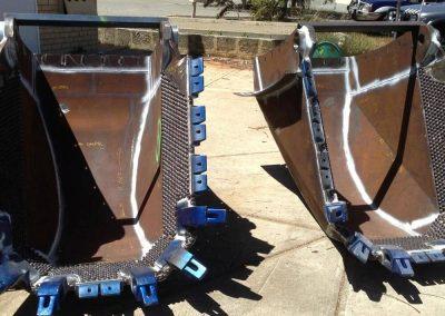Wear studs for bucket wear protection