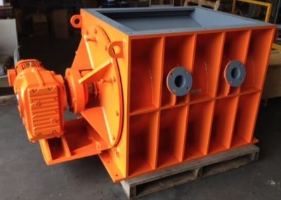 Heavy Duty Rotary Valve manufactured by Avweld for the grain industry