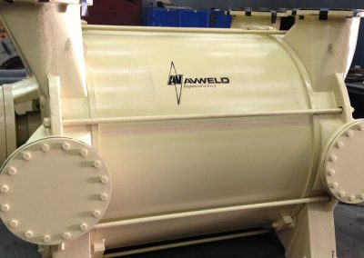 Heavy duty vacuum pump overhaul by Avweld