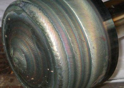 Stellite welded valve plugs