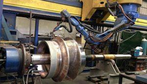 Robotic Welding of Pump Impeller
