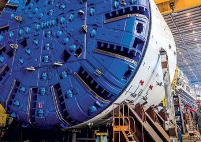 TBM Fabricator - Tunnel Lyon-Turin