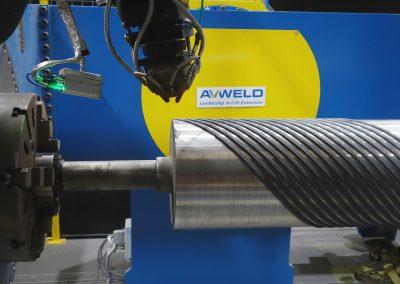 Laser Cladding Spiral Roll